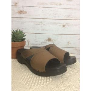 L.L. Bean Leather Sandals Women's 10.5